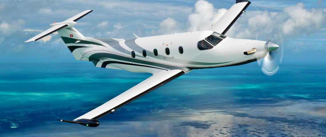 Private charter flight to the Caribbean
