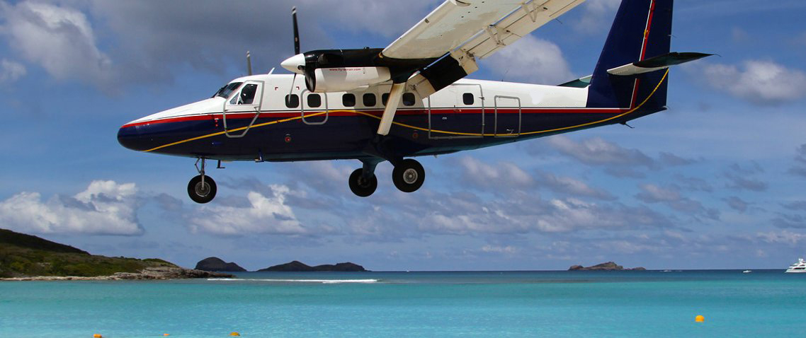 Book a flight to the caribbean islands