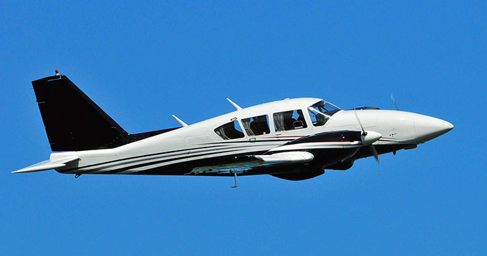 Book a Piper Aztec 23-250 to fly from St. Thomas to Anguilla