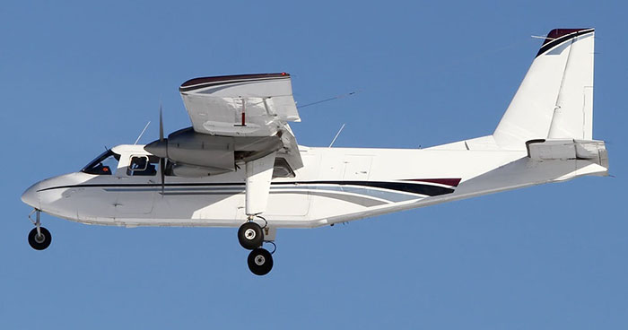 Book a Britten Norman Islander to fly from St. Thomas to Anguilla
