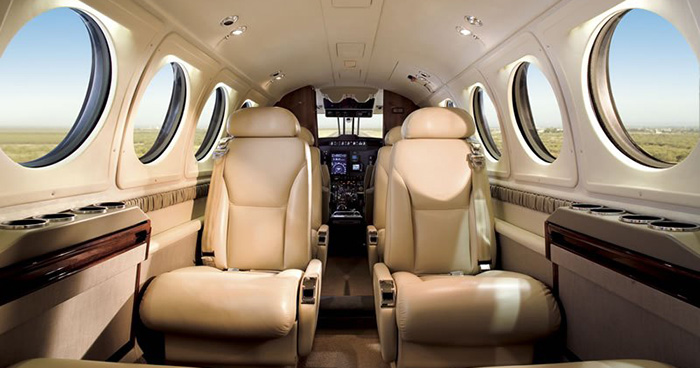 Book a Beechcraft King Air 100 to fly from St. Thomas to Anguilla